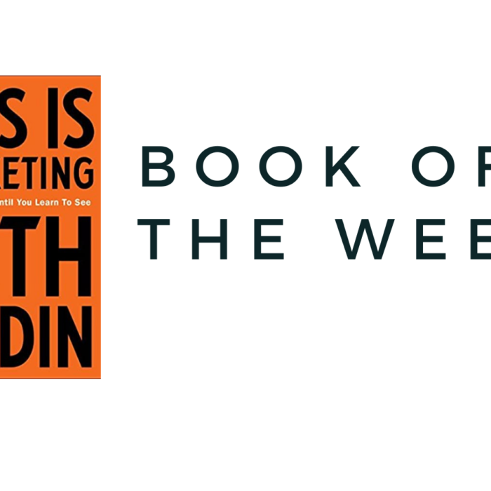 BOOK OF THE WEEK – THIS IS MARKETING