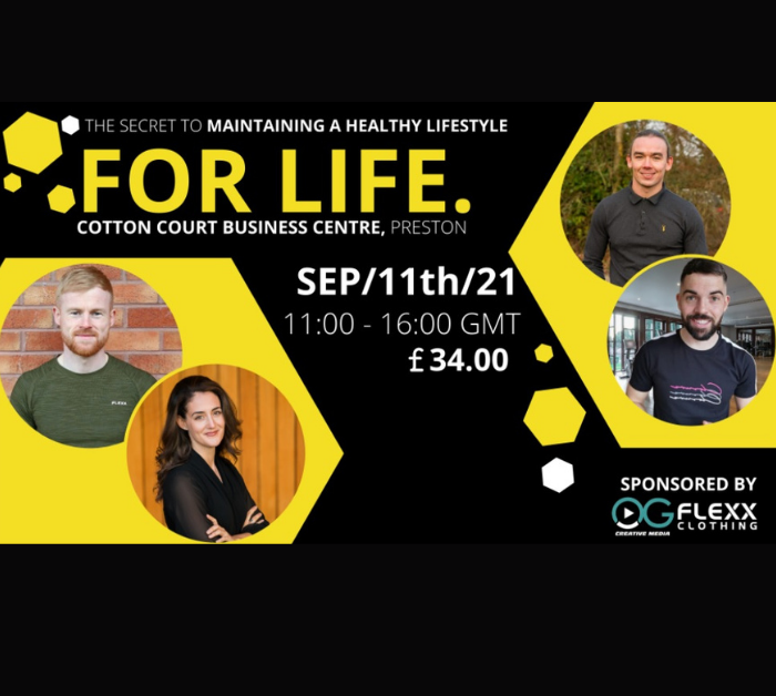EVENT AT COTTON COURT: THE SECRET TO MAINTAINING A HEALTHY LIFESTYLE FOR LIFE