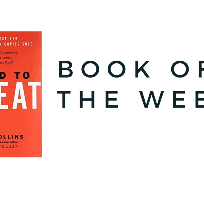 BOOK OF THE WEEK….GOOD TO GREAT