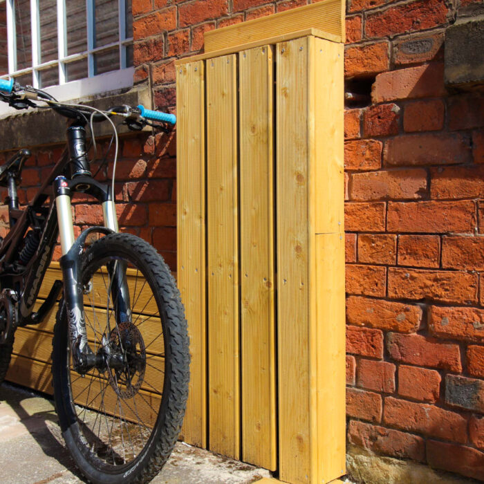 We Add Cycle Storage Facility