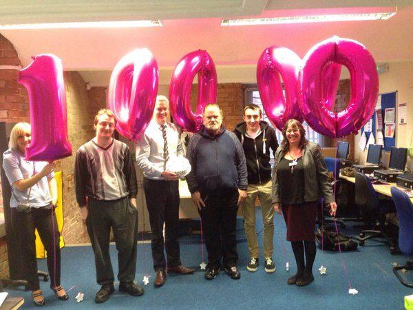 Remploy Celebrate 100,000 job successes!