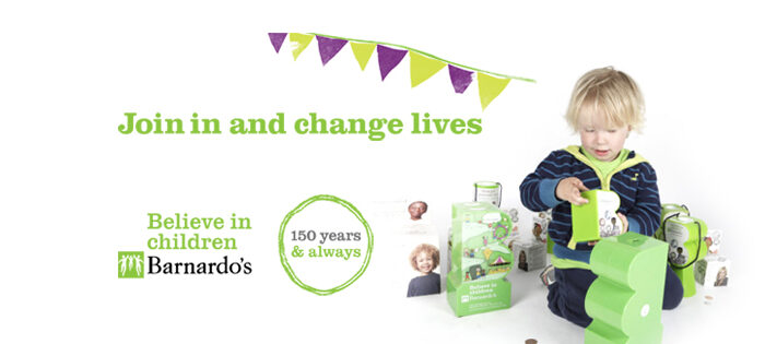 We are supporting Barnardos will you?