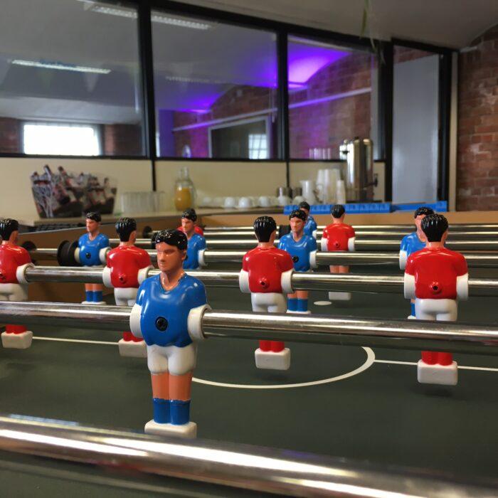 2nd office social – laughs, jokes & table football