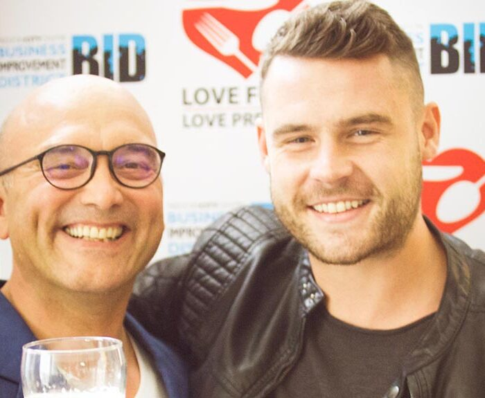 Love Food Love Preston 2016 with Gregg Wallace & Emmerdale's Danny Miller