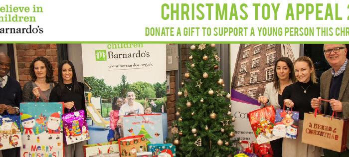 Barnardo's Christmas Toy Appeal