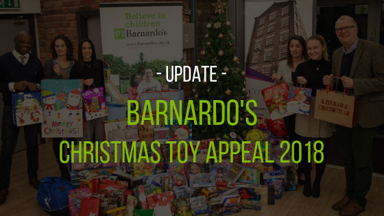 Update: Christmas Toy Appeal 2018