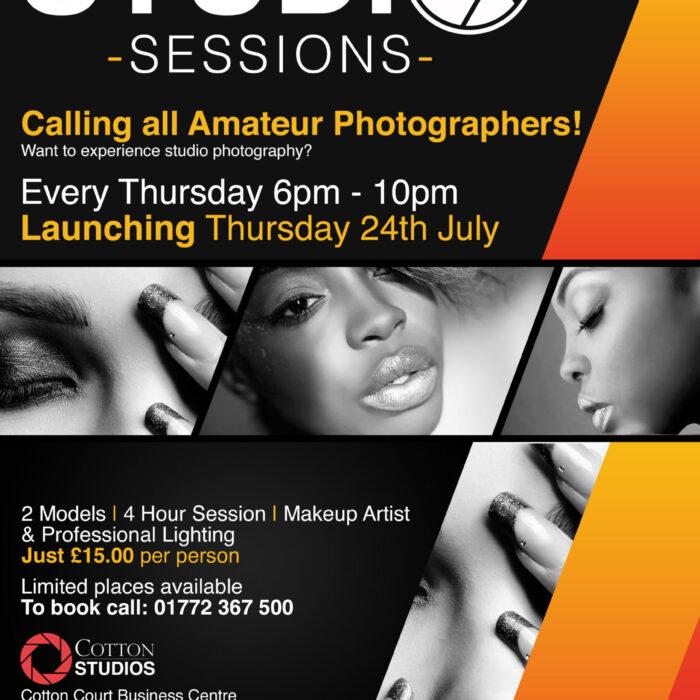 Cotton Studios launch Studio Sessions!