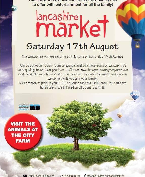 Lancashire Markets set to return!