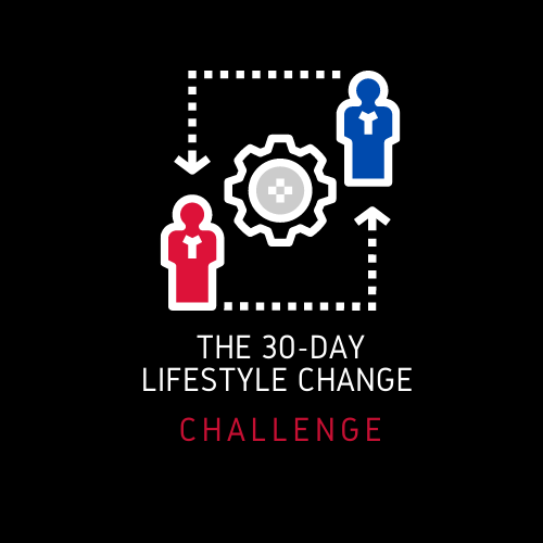 THE 30-DAY LIFESTYLE CHANGE CHALLENGE IS FINALLY HERE…