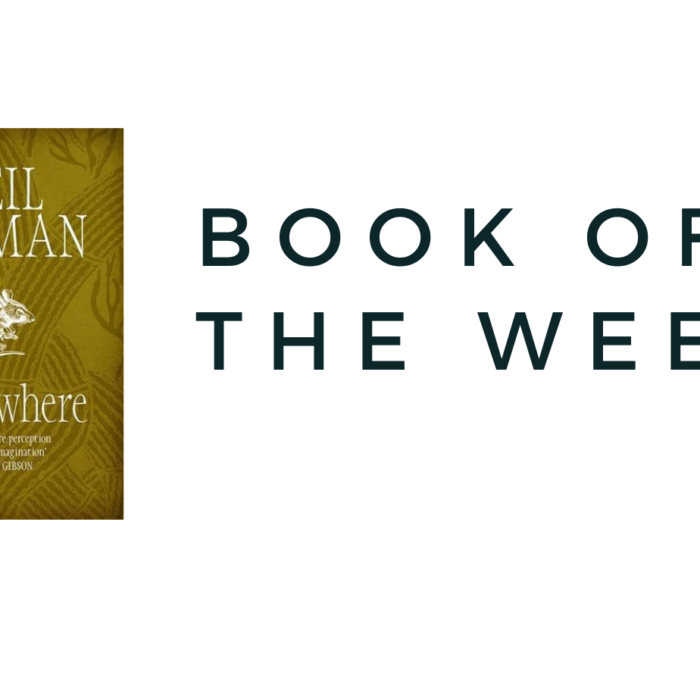 Book of the week – Never Where