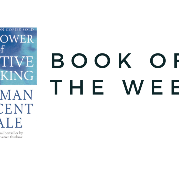 Book of the Week : The Power of Positive Thinking