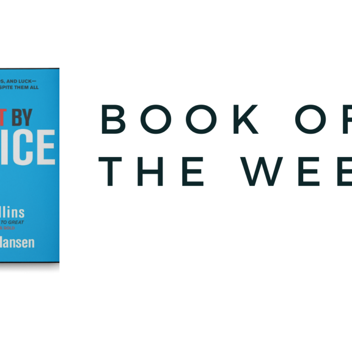 Book of the week – Great By Choice